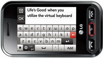 LG WINK 3G